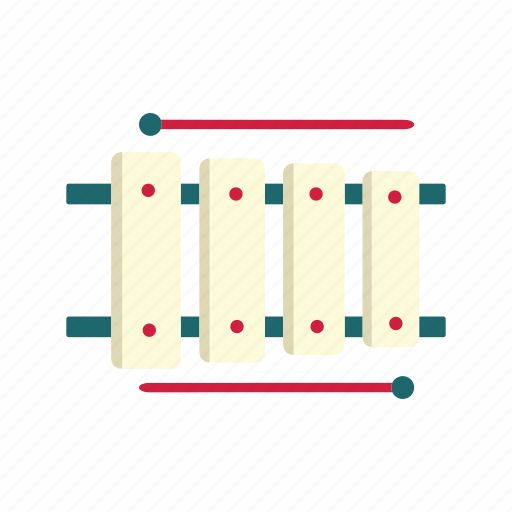 melody, music instrument, percussion instrument, sticks, xylophone icon
