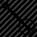 banjo, instrument, music, string instrument icon