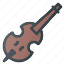 chello, instrument, music, play, violine icon