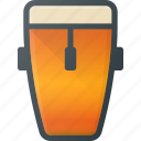 conga, instrument, music, play icon