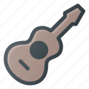 guitar, instrument, play, accoustic, music
