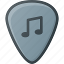 guitar, instrument, music, pick, play icon