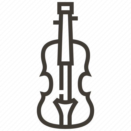 instruments, music, orchestra, percussion, rhythm, violin icon