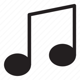interaction, music, note, song, ui, user interface icon