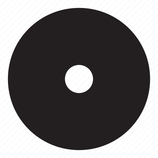 disc, interaction, music, record, round, ui, user interface icon