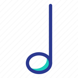 interaction, music, note, ui, user interface icon