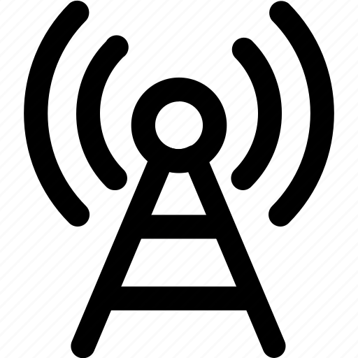 broadcast, onair, show, signal icon