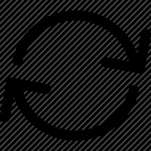 again, loop, reload, restart icon