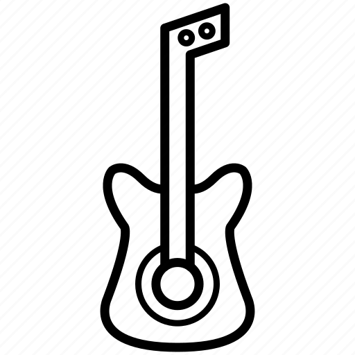 bass, device, guitar, instrument, multimedia, music, sound icon
