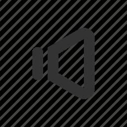 off, silent, sound, volume icon