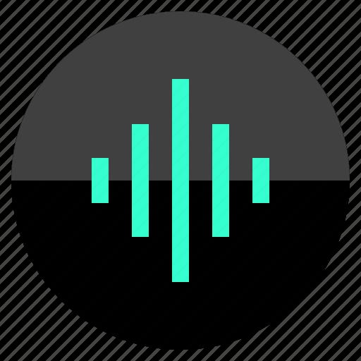audio, beat, listen, sound icon