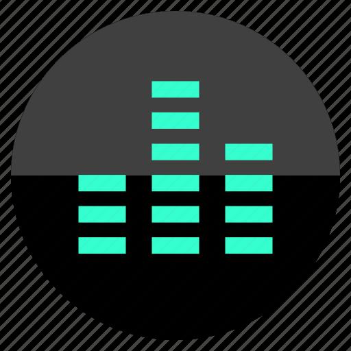 beats, data, graph, graphic icon