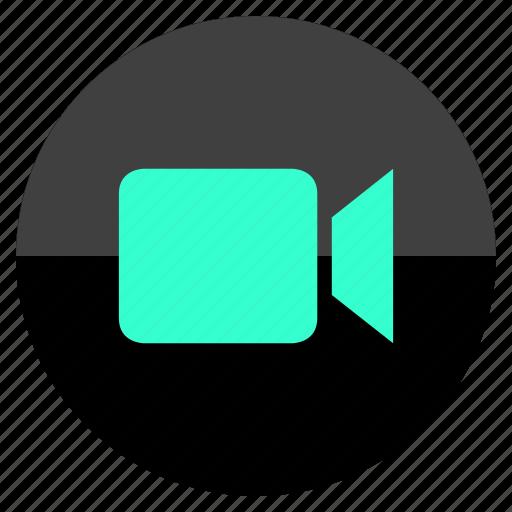 multimedia, record, vid, video icon