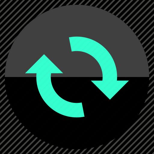 audio, loop, refresh, reload icon