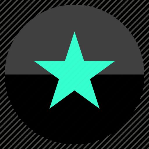 marketing, special, star, web icon