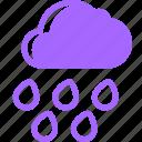 depression, gloomy, grumpy, music, rainy, sad icon