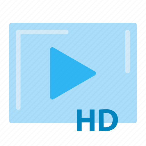 film, hd, industry film, movie, theater, video icon