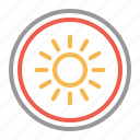 bright, brightness, light icon