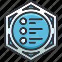 list, media, player, playlist icon