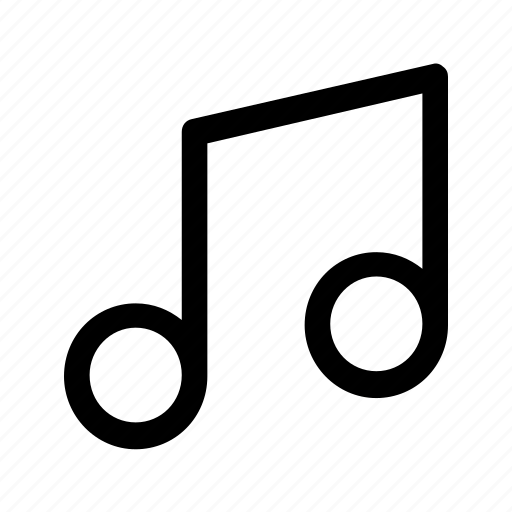 music, note, sign, sound icon