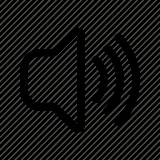 audio, dynamic, laud, sound, volume icon