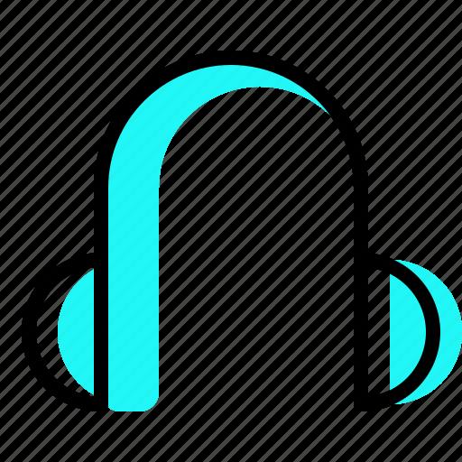 earphone, headphone, listening, music icon