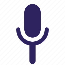 audio, mic, music, record icon