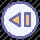 arrow, cursor, forward, interface, previous
