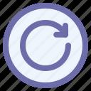arrow, interface, refresh, repeat, rewind