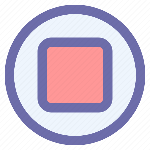 Audio, media, music, player, stop icon - Download on Iconfinder