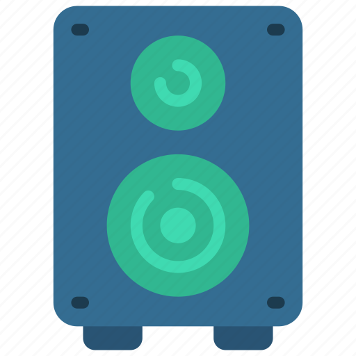 Audio, music, production, speaker icon - Download on Iconfinder