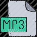 file, m, music, p, sound, three