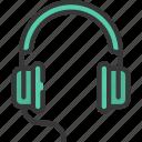 headphones, headset, music, musical, production