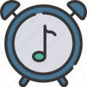 music, musical, production, timer icon