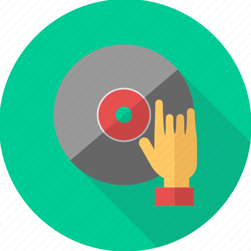cd, dj, dvd, music, musical, player, sound icon