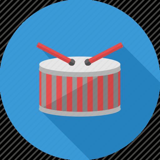drum, instrument, music, musical, node, sound icon
