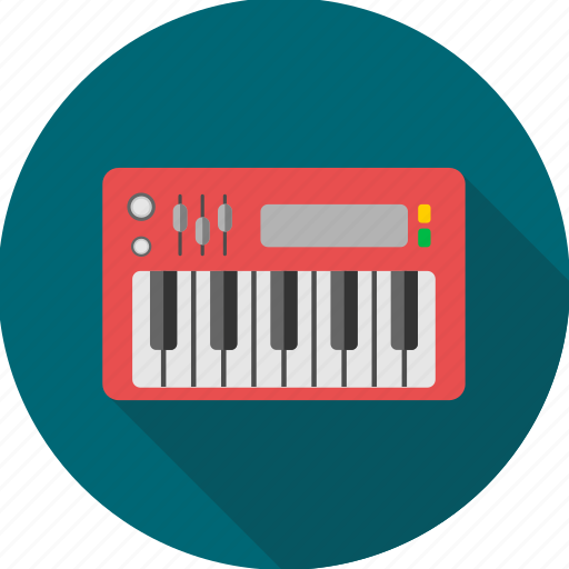 instrument, music, musical, node, note, piano, sound icon