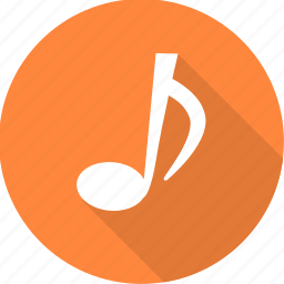 media, music, node, sign, song, sound, theme icon