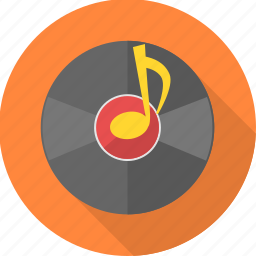 cd, disc, dvd, music, node, song, sound icon