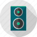 instrument, music, musical, sound, speaker, speakers icon