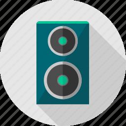 instrument, music, musical, sound, speaker, speakers icon