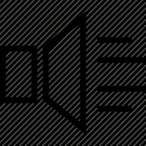 high, music, sound, voice, volume icon