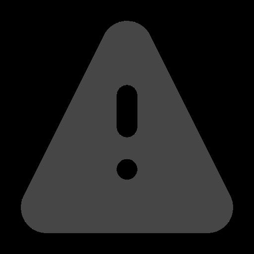 alert, caution, danger, warning icon