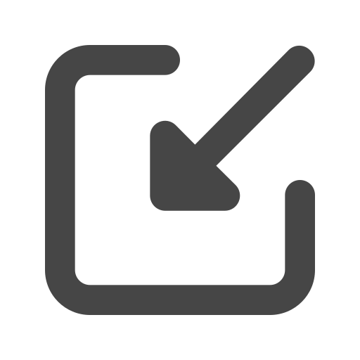 arrow, file, import, save icon