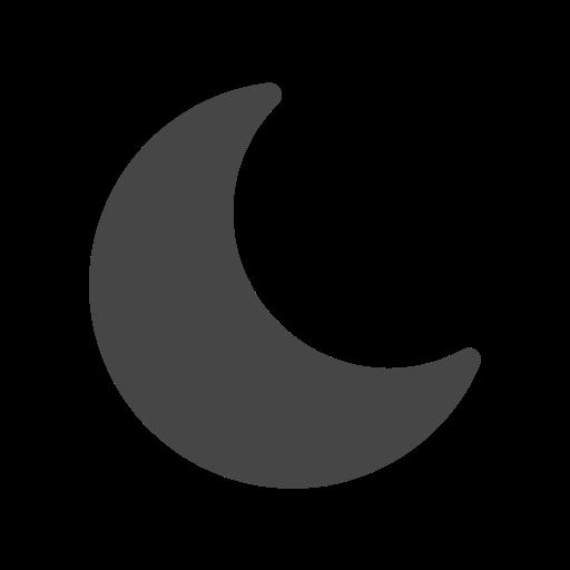 dark, mode, moon, night icon