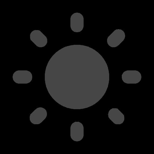 day, light, mode, sun icon