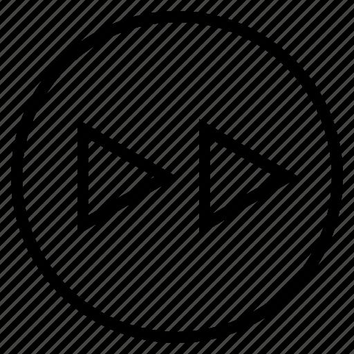 arrow, audio, forward, music, next, song, sound icon