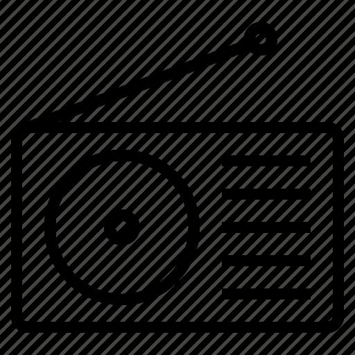 audio, media, music, radio, signal, song, sound icon