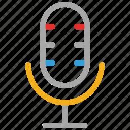 mic, microphone, radio mic, studio mic icon