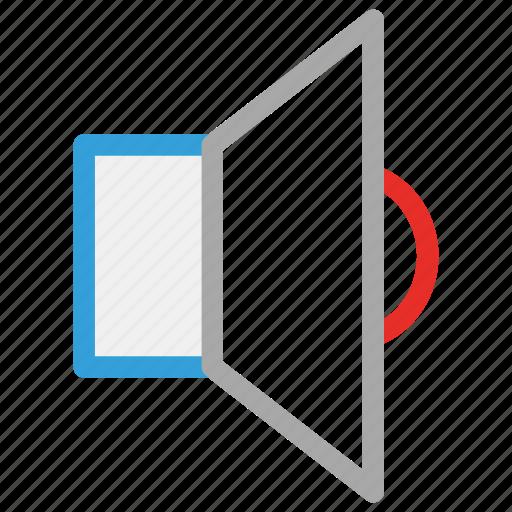 low, music, speaker, volume icon